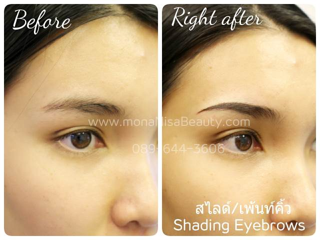 View only photos of 3D shading eyebrow tattoo • MonaNisa Beauty